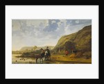 River Landscape with Riders, c. 1655 by Aelbert Cuyp