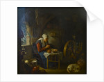 The Prayer of the Spinner, 1645 by Gerard Dou