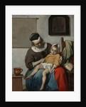 The Sick Child, ca 1663 by Gabriel Metsu
