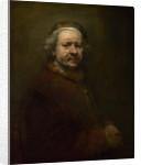 Self Portrait at the Age of 63 by Rembrandt (Rembrandt van Rijn)