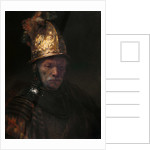 The Man with the Golden Helmet by Rembrandt (Rembrandt van Rijn)