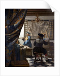 The Art of Painting (The Allegory of Painting) by Jan Vermeer