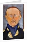 Portrait of the painter Léon Bakst by Amedeo Modigliani
