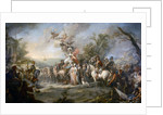 Allegory of Catherine the Great?s Victory over the Turks and Tatars by Stefano Torelli