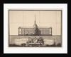 Saint Michaels Castle in Saint Petersburg, 1797 by Vincenzo Brenna