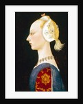 A Young Lady of Fashion, 1462-1465 by Paolo Uccello