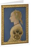 Portrait of a Lady, ca 1465 by Alesso Baldovinetti