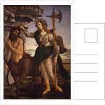 Pallas Athena and the Centaur, 1482 by Sandro Botticelli