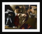 Christ Crowned with Thorns by Michelangelo Caravaggio