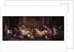 Feast in the House of Simon the Pharisee, ca 1748 by Maria Felice Tibaldi-Subleyras