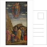 The Ascension (Trittico degli uffizi (Uffizi Tryptich), left panel), ca 1463-1464 by Andrea Mantegna