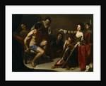 Hercules and Omphale, c. 1640 by Bernardo Cavallino