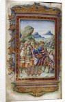Achilles refusing gifts (Illustration for The Heroides by Ovid), 1485-1499 by Cristoforo Majorana