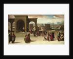 The Story of Papirius, Mid of 1520s by Domenico Beccafumi