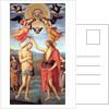 Baptism of Christ, c. 1512 by Perugino