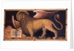 The Lion of Saint Mark by Jacobello del Fiore