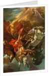 The fall of Phaeton by Sebastiano Ricci