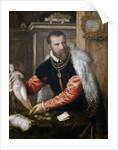 Portrait of Jacopo Strada (1507-1588) by Titian