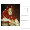 Portrait of Pope Paul III Farnese, 1543 by Titian