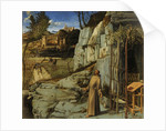Saint Francis in the Desert, c. 1480 by Giovanni Bellini