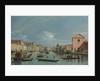 Venice. Upper Reaches of the Grand Canal facing Santa Croce, 1740s by Bernardo Bellotto