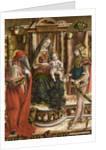 La Madonna della Rondine (The Madonna of the Swallow), after 1490 by Carlo Crivelli