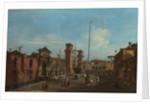 Venice. The Arsenal, 1755-1760 by Francesco Guardi