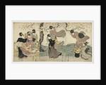 Flowers in the Wind, c. 1797-1800 by Utagawa Toyokuni