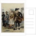 A servant take the dogs out, 1843 by Rudolf Kasimirovich Zhukovsky