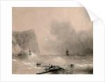 The disaster of the British fleet off the coast of Balaclava on November 14th, 1854, 1854 by Ivan Konstantinovich Aivazovsky
