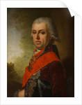 Portrait of Dmitri Prokofievich Troshchinsky, 1800s by Anonymous