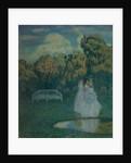 Park bathed in shadows, 1904 by Viktor Elpidiforovich Borisov-Musatov