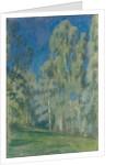 Birches at Midday, 1903 by Viktor Elpidiforovich Borisov-Musatov