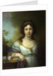 Portrait of Varvara Shidlovskaya, 1798 by Vladimir Lukich Borovikovsky