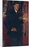 Portrait of the artist Mstislav Dobuzhinsky, 1917 by Boris Dmitryevich Grigoriev