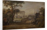 Changing of the Guard at the Tsarina?s Meadow in Saint Petersburg, 1799 by Mikhail Matveevich Ivanov