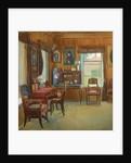 Interior in the House in Chegodayevo Village, 1900s by Olga Nikolayevna Korovina