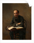 Portrait of the Painter Yefim Yefimovich Volkov, 1885 by Nikolai Dmitrievich Kuznetsov