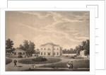 View of the House of Princess Natalya Petrovna Galitzine in the Gorodnya Estate, 1820s by Semyon Prokhorovich Lukin
