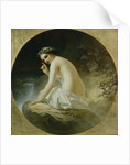 Bather, 1859 by Timofei Andreyevich Neff