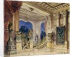 Stage design for the opera The scarlet Rose by N. Krotkov, 1884 by Vasili Dmitrievich Polenov