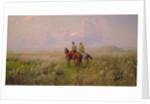 Cossacks in the Steppe, 1900s by Sergei Ivanovich Vasilkovsky