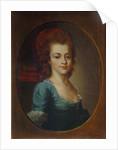 Portrait of Yevdokiya Stepanovna Chertkova by Anonymous