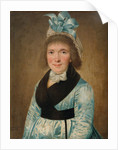 Portrait Of a Woman In a Blue Dress, 1799 by Anonymous
