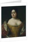 Portrait of Countess Yelena Leontyevna Ushakova, Early 18th cen by Anonymous