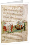 Askold and Dir asked by Rurik for a permission to go to Constantinople by Anonymous