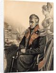 Portrait of Count Mikhail Vorontsov, 1820s by Carl von Hampeln