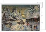 Russian Winter by Konstantin Alexeyevich Korovin