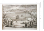 View of the Petropavlovsk Harbor, 1755 by Stepan Petrovich Krasheninnikov