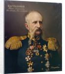 Portrait of Ivan Alexeyevich Bartolomey (1813?1870), 1860s by Ivan Stepanovich Ksenofontov